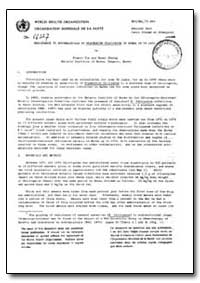 Health Organisation, Malaria Comission; ... by Franco Tin