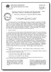 Health Organisation, Malaria Comission; ... by R. Cornille Brogger