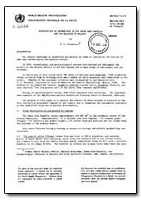 Health Organisation, Malaria Comission; ... by R. L. Kouznetsov, Dr.