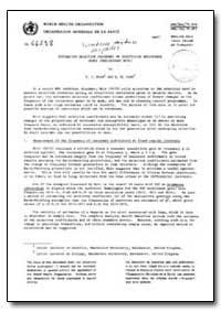 Health Organisation, Malaria Comission; ... by R. J, Wood