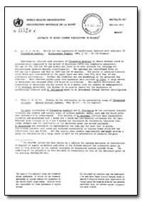 Health Organisation, Malaria Comission; ... by Y. J. Etal