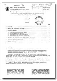 Health Organisation, Malaria Comission; ... by J. Foldes