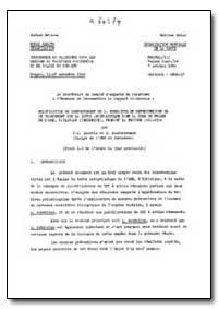 Health Organisation, Malaria Comission; ... by P. C. Issaris