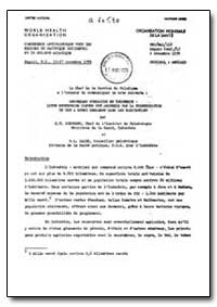 Health Organisation, Malaria Comission; ... by H. T. Soeparmo