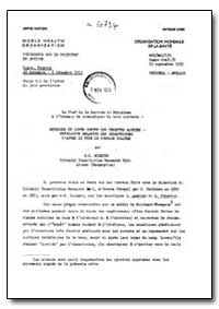 Health Organisation, Malaria Comission; ... by K. S., Hocking