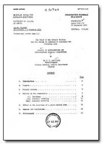 Health Organisation, Malaria Comission; ... by H. M. Archibald, Dr.