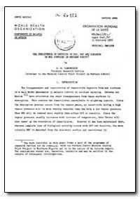 Health Organisation, Malaria Comission; ... by D. M. Langbridge, Dr.