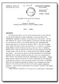 Health Organisation, Malaria Comission; ... by G. Andc. Donald