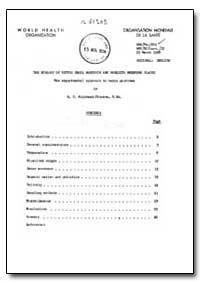 Health Organisation, Malaria Comission; ... by R. C. Muirhead-Thohison
