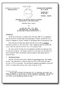 Health Organisation, Malaria Comission; ... by A. Mohan Rao