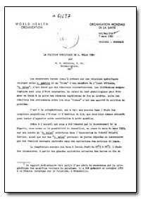 Health Organisation, Malaria Comission; ... by M. H. Holstein
