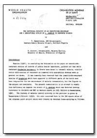Health Organisation, Malaria Comission; ... by V. Ramakrishna