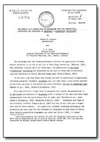 Health Organisation, Malaria Comission; ... by Robert W. Burgess