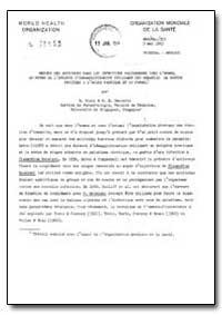 Health Organisation, Malaria Comission; ... by B. Stein