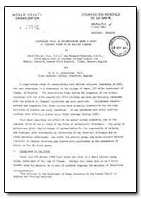 Health Organisation, Malaria Comission; ... by David Morley