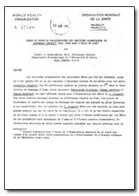 Health Organisation, Malaria Comission; ... by Albert A. Abdel-Malek