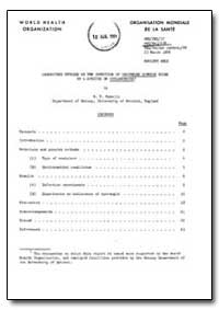 Health Organisation, Malaria Comission; ... by M. F. Madelin