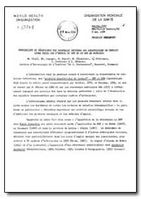 Health Organisation, Malaria Comission; ... by M. Ciuca