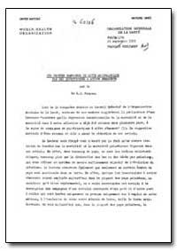 Health Organisation, Malaria Comission; ... by E. J. Pampana, Dr.