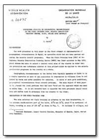 Health Organisation, Malaria Comission; ... by S. Kolta
