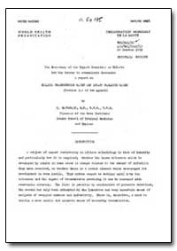 Health Organisation, Malaria Comission; ... by G. Macdonald