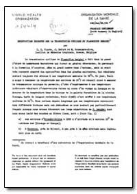 Health Organisation, Malaria Comission; ... by I. H. Vincke