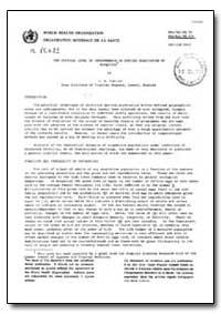 Health Organisation, Malaria Comission; ... by C. B. Cuellar