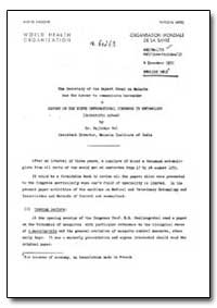 Health Organisation, Malaria Comission; ... by Ra Jindar Pal, Dr.