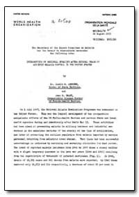 Health Organisation, Malaria Comission; ... by Justice M. Andrews, Dr.