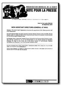 World Health Organization Note for the P... by Asamoah-Baah, Dr.