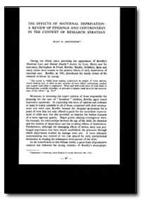 Public Health Publication : World Health... by Mary D. Ainsworth