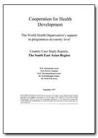 World Health Organization Publication : ... by Adetokunbo Lucas