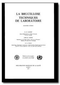 World Health Organization Publication : ... by G. G. Alton