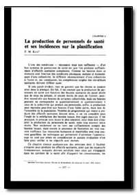 World Health Organization Publication : ... by F. M. Katz