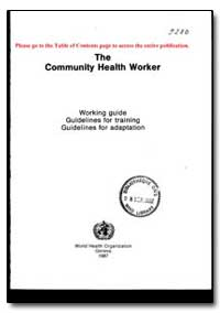 World Health Organization Publication : ... by World Health Organization