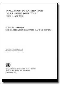 World Health Organization Publication : ... by J. E. Asvall, Dr.