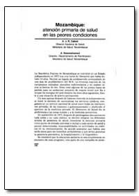 World Health Organization Publication : ... by A. J. R. Cabral