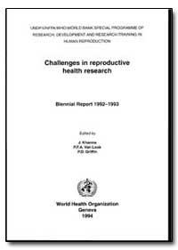 World Health Organization Publication : ... by J. Khanna