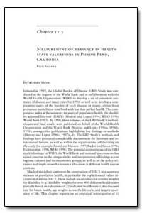 World Health Organization Publication : ... by Ritu Sadana