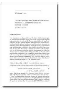 World Health Organization Publication : ... by Jeff Richardson