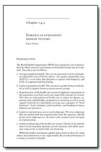 World Health Organization Publication : ... by Erik Nord