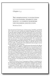 World Health Organization Publication : ... by Bedirhan Ustun