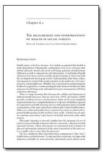 World Health Organization Publication : ... by Duncan Thomas