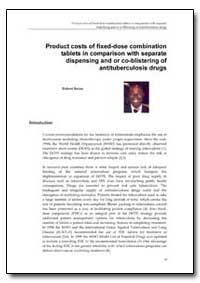 World Health Organization Publication : ... by Robert Bwire