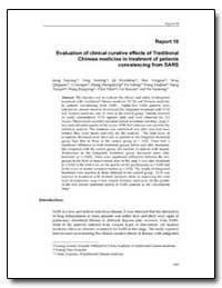 World Health Organization Publication : ... by Jiang Zaiyang