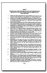 World Health Organization Publication : ... by R. Walker