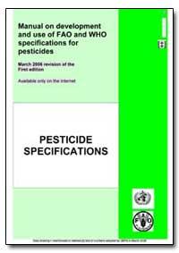World Health Organization Publication : ... by Gero Vaagt