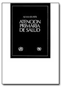 World Health Organization Publication : ... by Manuel Roiguei Boal