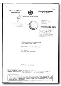 World Health Organization : Organisation... by A. L. Creese
