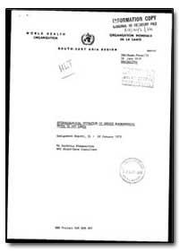 World Health Organization : Organisation... by Suchitra Nimmannitya, Dr.